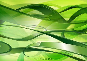 Grüne Technologie und Kommunikationshintergrund