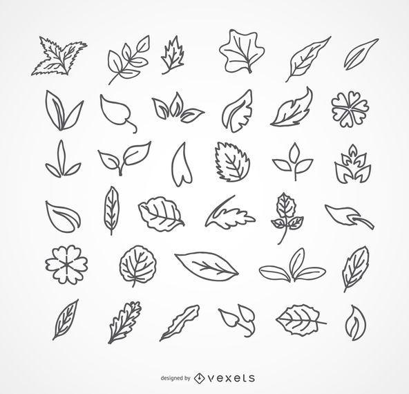 Paquete de hojas