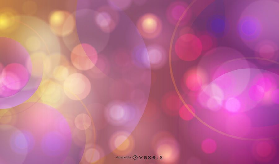 Colorful Bokeh Balloons Background