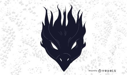 Black Phoenix Bird Decoration