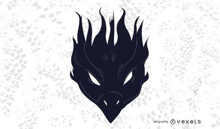 Black Phoenix Bird Dekoration