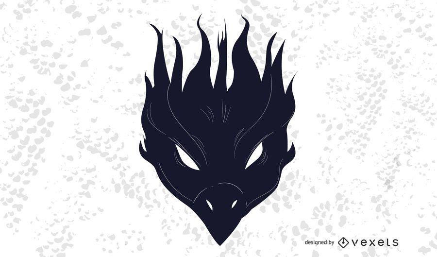 Decoración de aves Phoenix negro