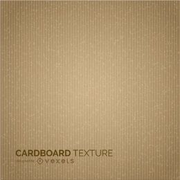 Karton Textur-Design in Sepia
