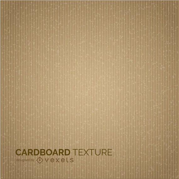 Karton Textur-Design in Sepia