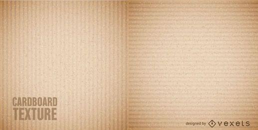 Textura de papelão sem emenda