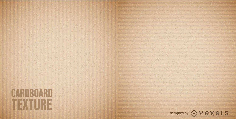Textura transparente de cartón