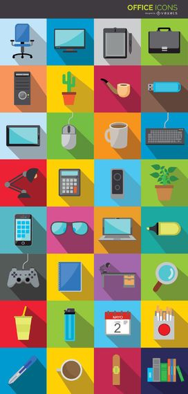 Office icon collection