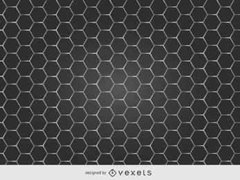 Glatte Bienenwaben-Metallgrill-Beschaffenheit