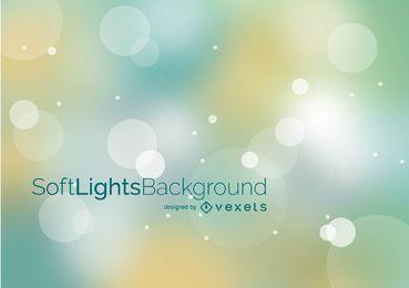 Fondo de luces suaves