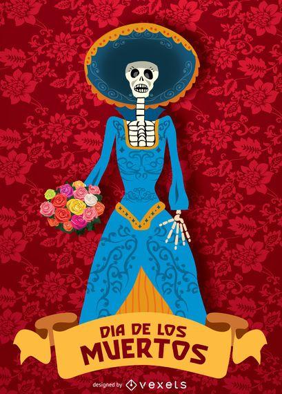 Day of dead - Dia de los muertos Catrina