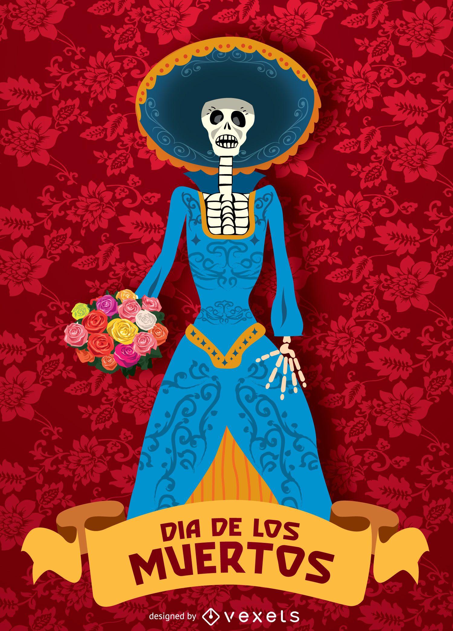 Dia de muertos - Dia de los muertos Catrina