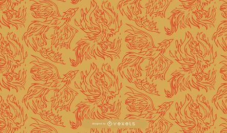 Decorativo Phoenix Pattern Ornamental Pack