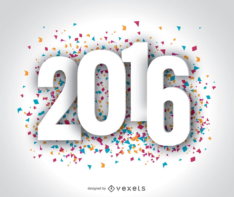 Happy Year 2016 wallpaper