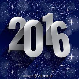 Sterne des neuen Jahres 2016
