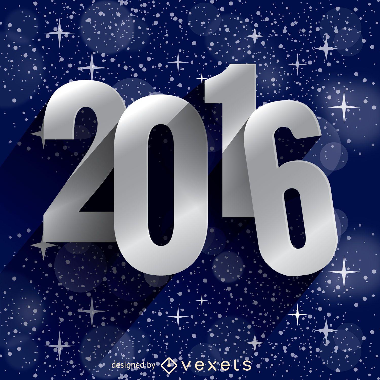 Estrellas de año nuevo 2016