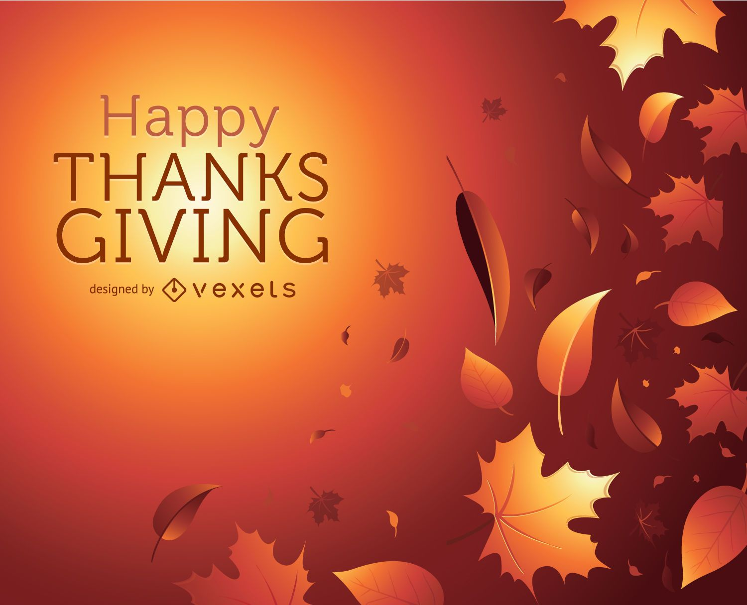 Thanks Giving autumn graphic