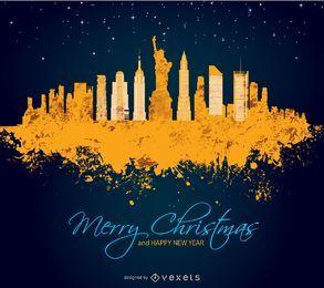 Feliz Natal em Manhattan