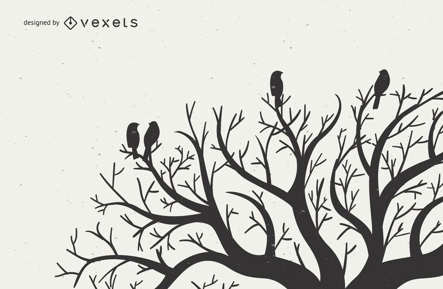 Lovebirds on Tree Branches