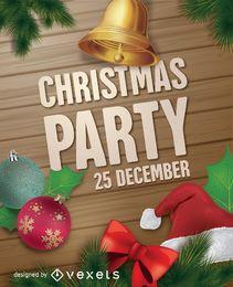 Weihnachtsfest-Poster