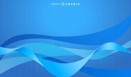 Einfacher abstrakter blauer Hintergrund