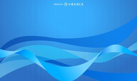 Fundo azul abstrato simples