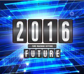 2016 concepto futuro