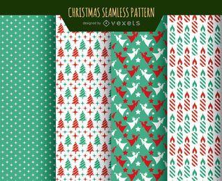 Texturas de papel de parede de Natal