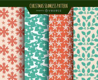 Weihnachten Texturen Tapeten