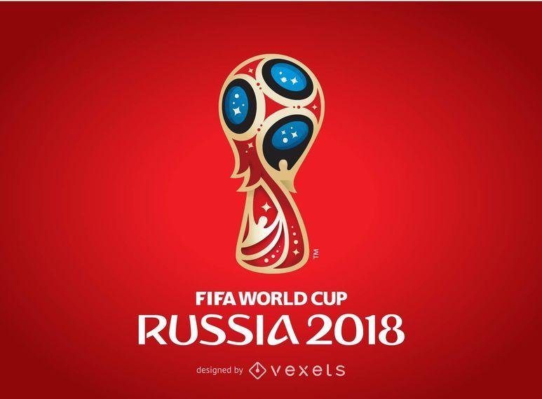 Rusia 2018 Logo Poster