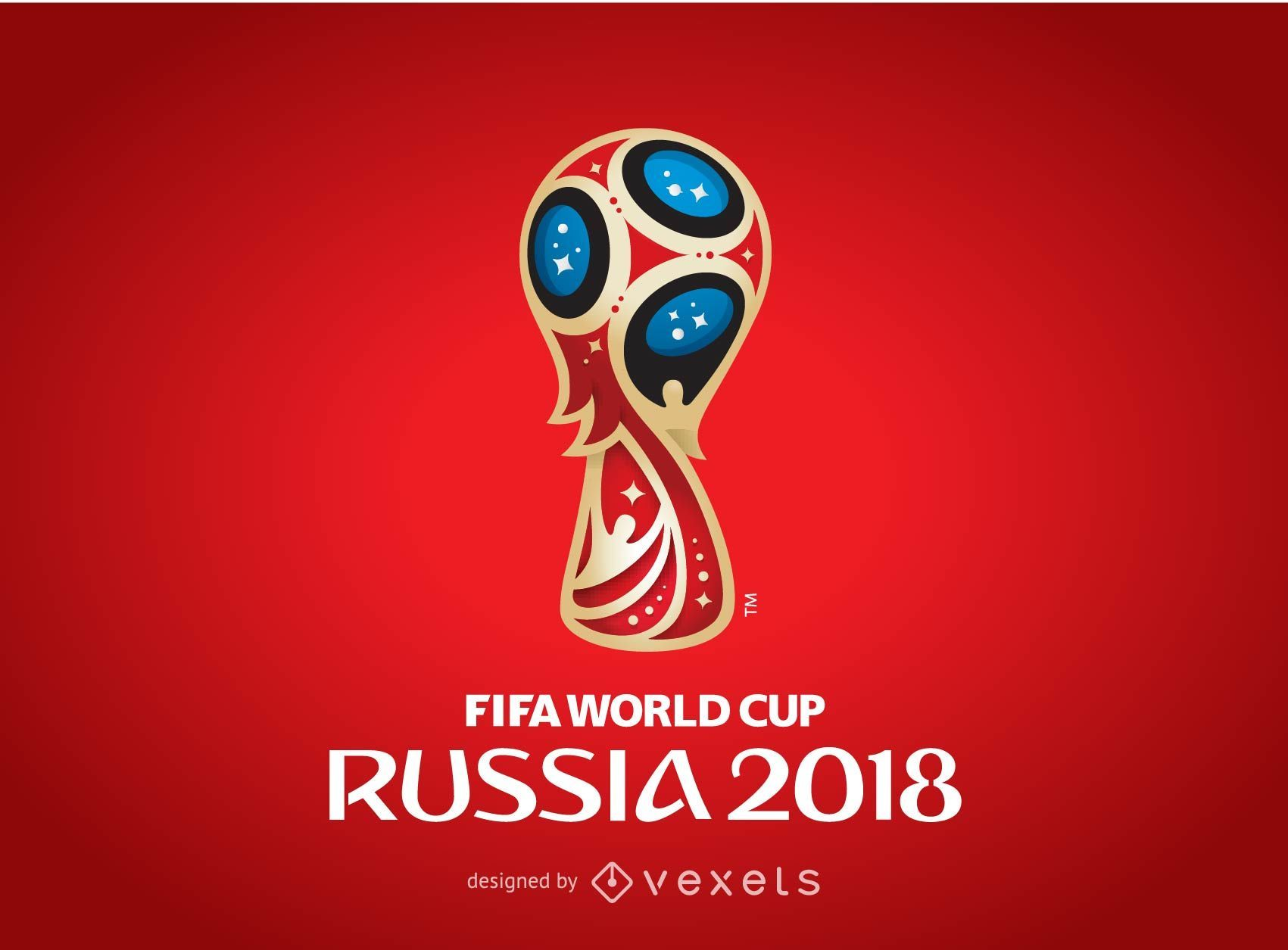 Russia 2018 Logo Poster
