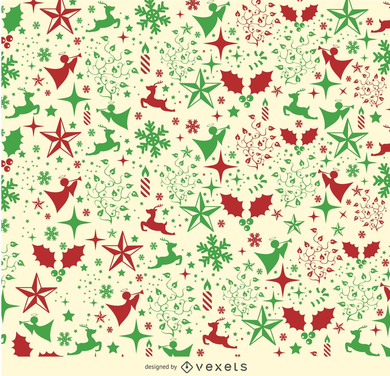 Christmas Elements background