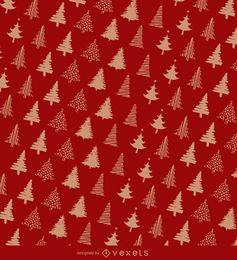 Design de papel de embrulho de Natal