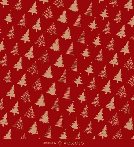 Diseño de papel de regalo de Navidad - Descargar vector