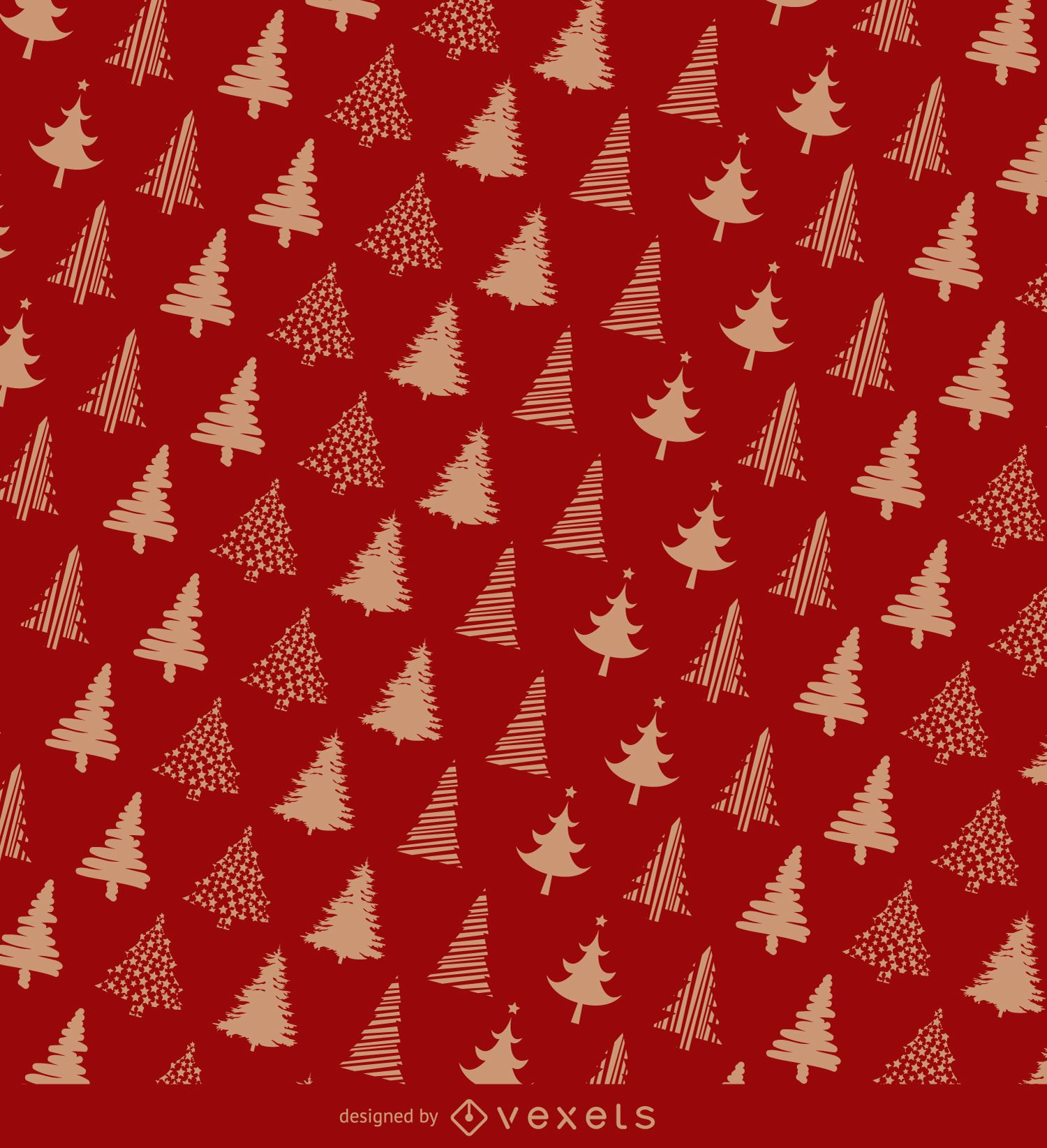 Christmas Wrapping Paper Design Vector Download