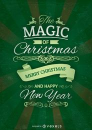 Christmas green card