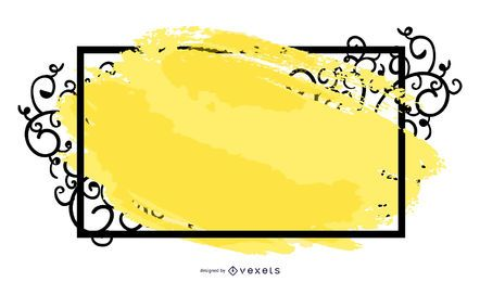 Banner de quadro de roda suja