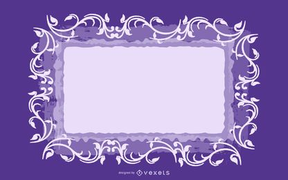 Wirbelnde Fahne Grungy Purple Background
