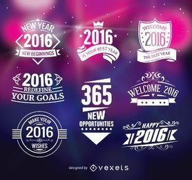 2016 insignias de año nuevo
