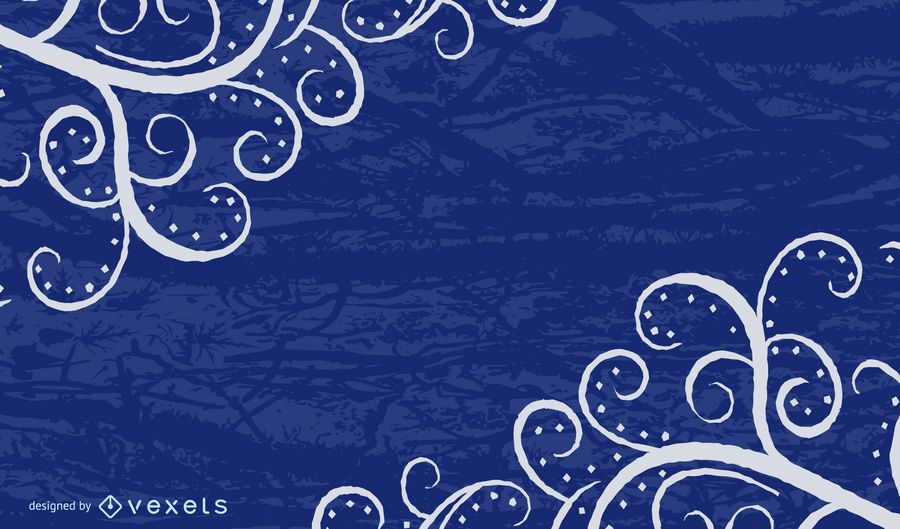 Fundo azul sujo de redemoinhos