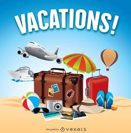 Férias de verão viagens