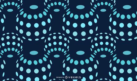 Floating Bubbles Dotted Pattern