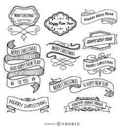 Natal doodles fitas