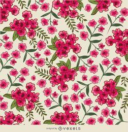 Flor rosa fondo