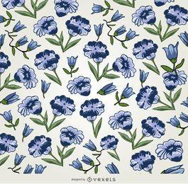 fundo floral violeta