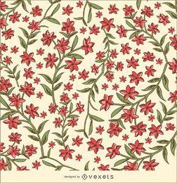 Flores textura de fondo