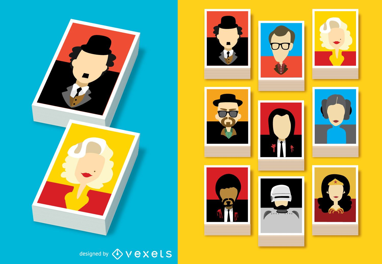 Avatares de personajes de películas famosos