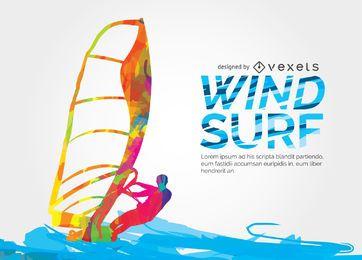 Projeto colorido windsuf