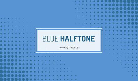 Blauer Halbton