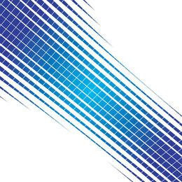 Blue halftone