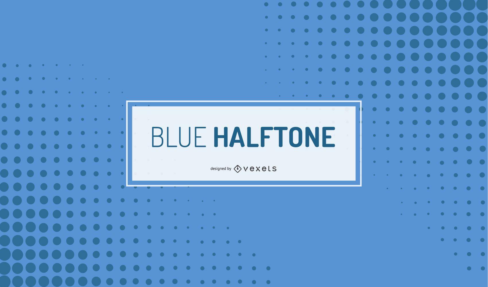 Semitono azul